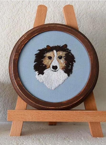 6 Easy Tips to Better Embroidered Pet Portraits